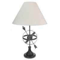 8921 - Metal Armillary Sphere Lamp