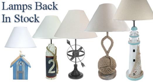 Lamps Back in Stock