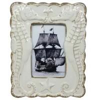 5603 - Ceramic Seahorse Frame