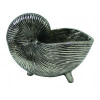 8559 - Giant Metal Nautilus Display Shell