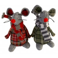 3749 - Xmas Mouse Doll