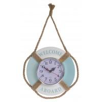 8826 - Welcome Aboard Float Clock