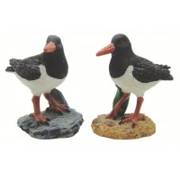 7651 - Resin Oystercatcher - Set of 2