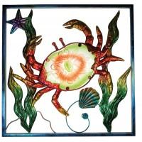 7831 - Glass & Metal Crab
